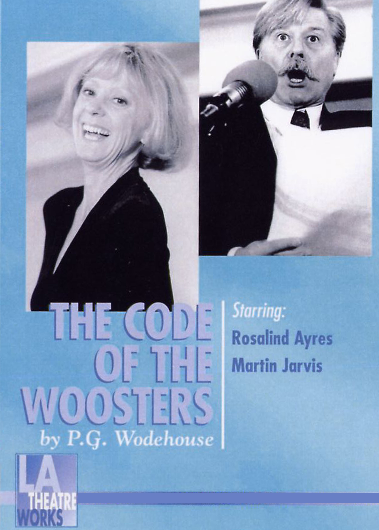 Poster for the audio drama The Code of the Woosters