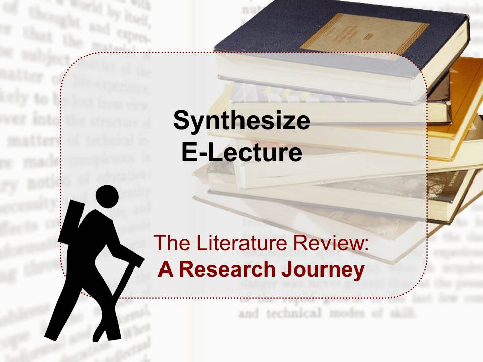 Synthesize E-Lecture