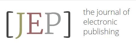 Journal of Electronic Publishing Logo