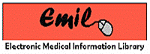 Oranage logo for the Electronic Medical Information Library at Northwell Health
