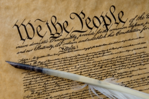 First words of the US Constitution