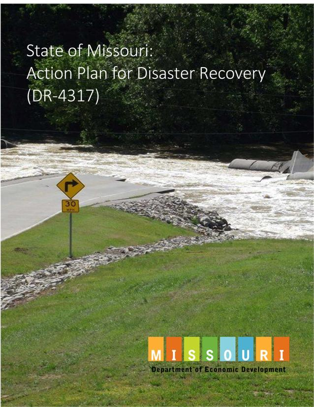 Cover image of Disaster Recovery Action Plan. Click to view