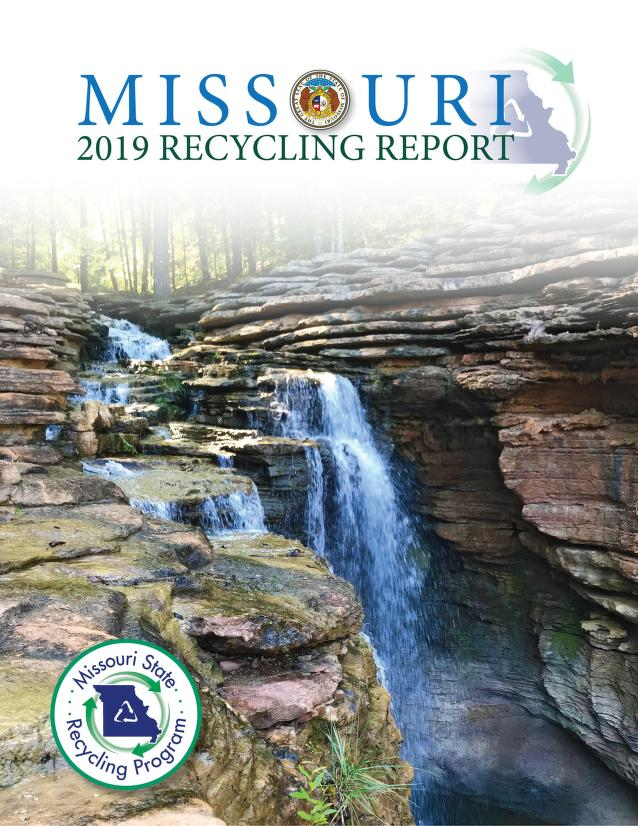 Cover image of Missouri State Recycling Program annual report