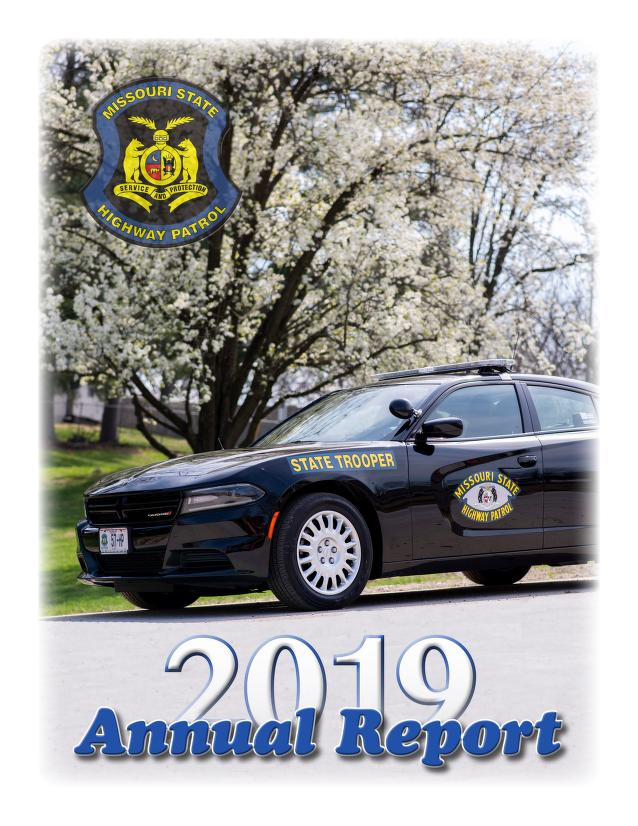 Cover image of State Highway Patrol Annual Report