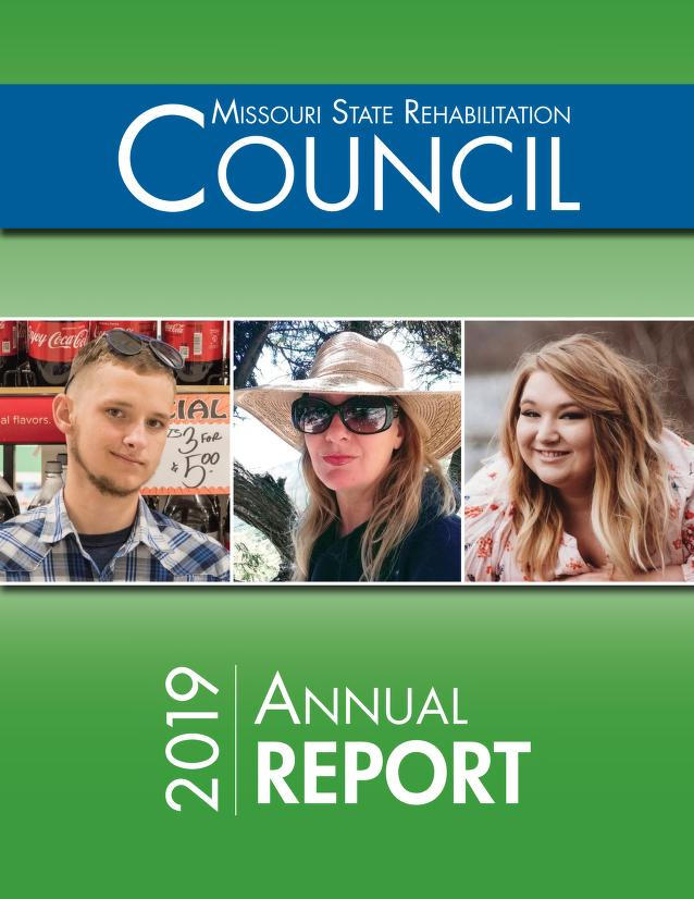 Cover Image of State Rehabilitation Council Annual Report