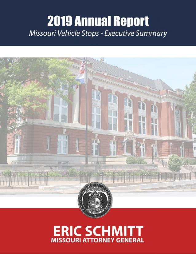 Cover image of Vehicle Stops Annual Report