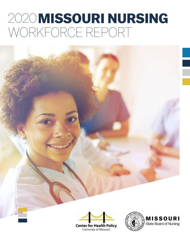 Cover image of Missouri Nursing Workforce Report