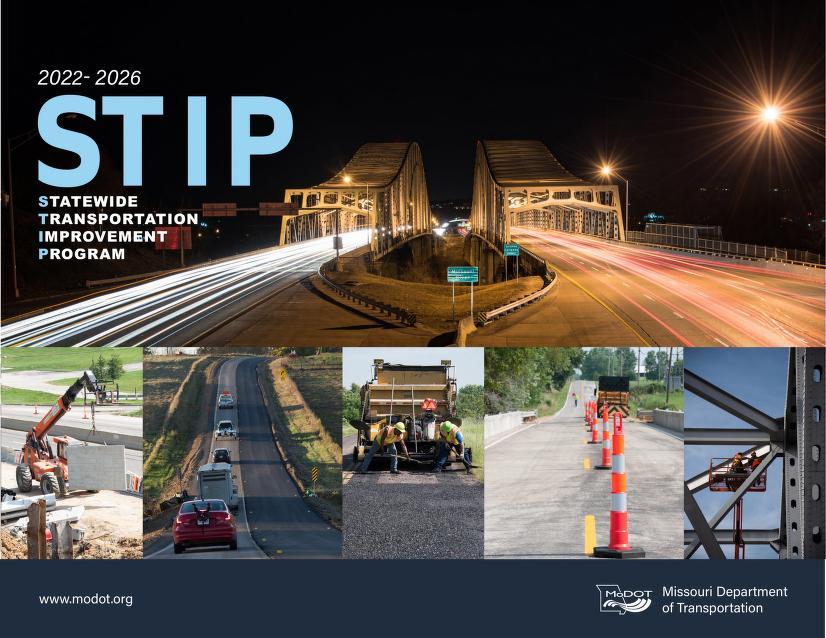 Images of bridges, road construction, highways