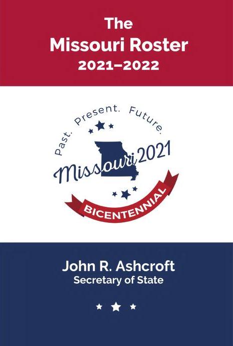 Missouri 2021 Bicentennial logo.