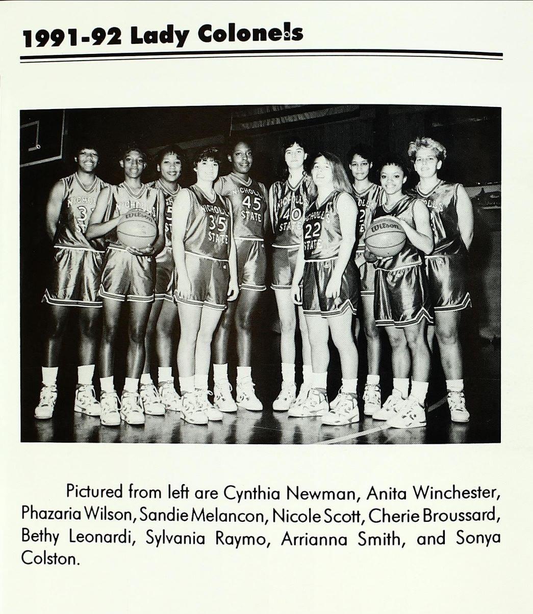 1991-1992 Team Photo