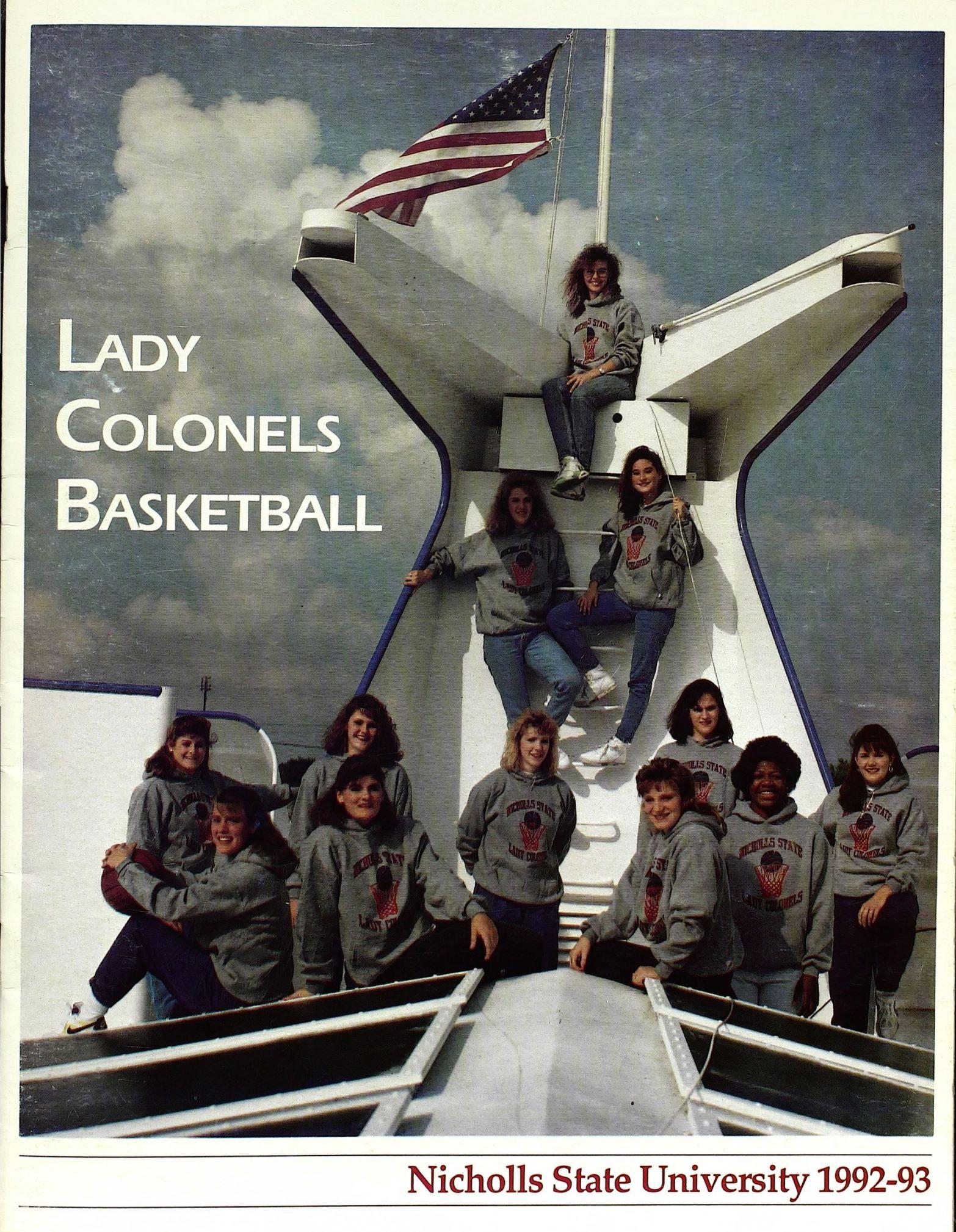 1992-1993 Program Cover