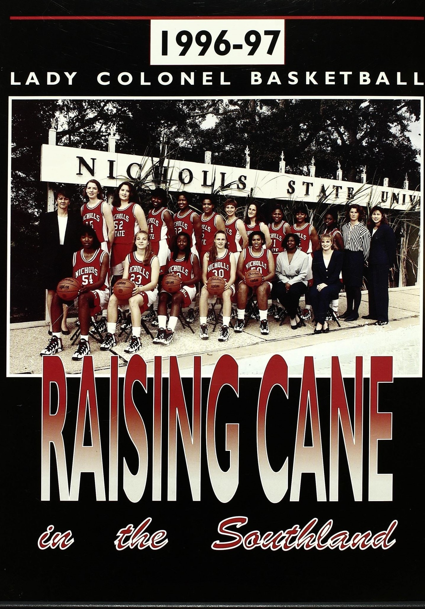 1996-1997 Program Cover