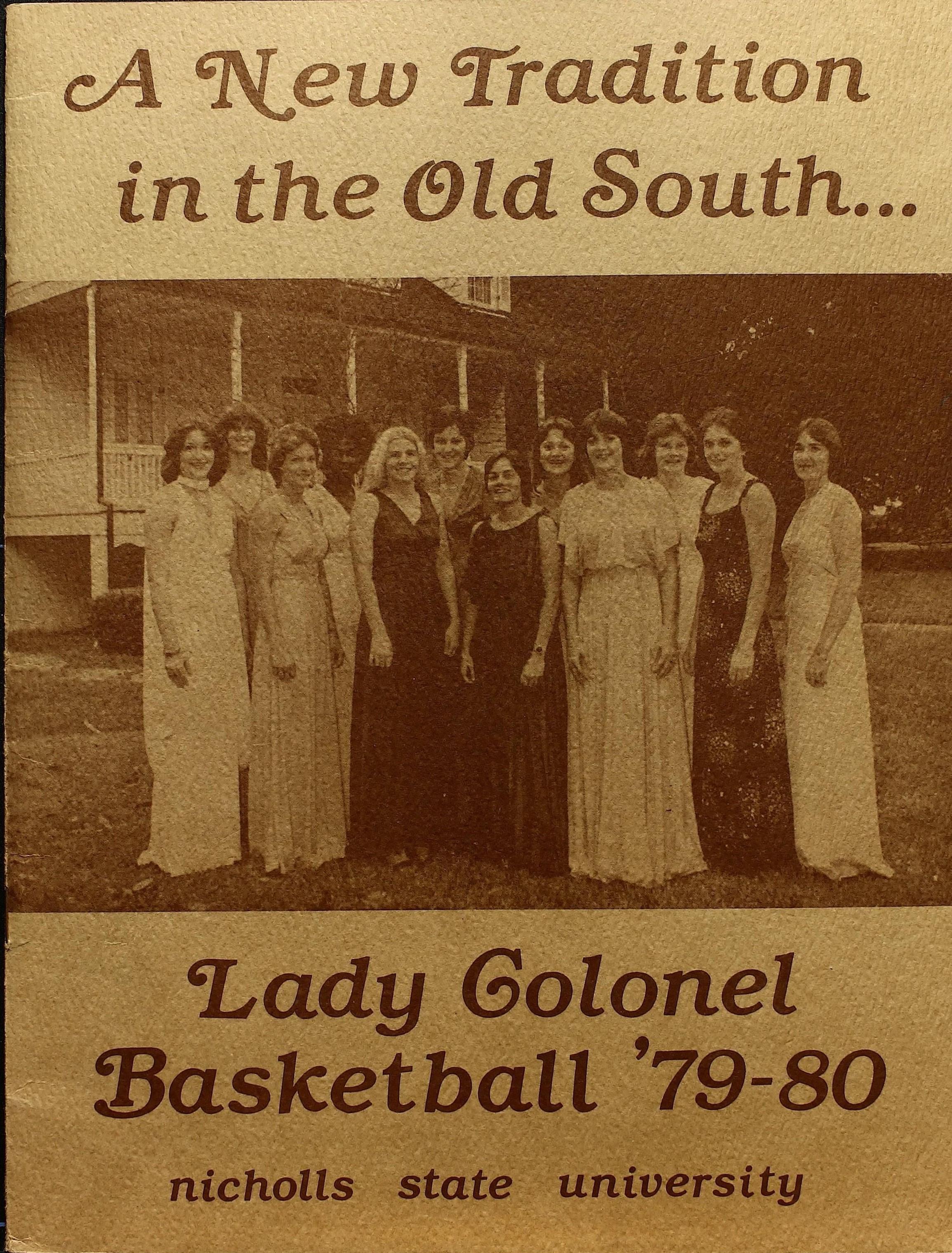 1979-1980 Program Cover