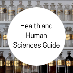 Go to Health and Human Sciences Guide