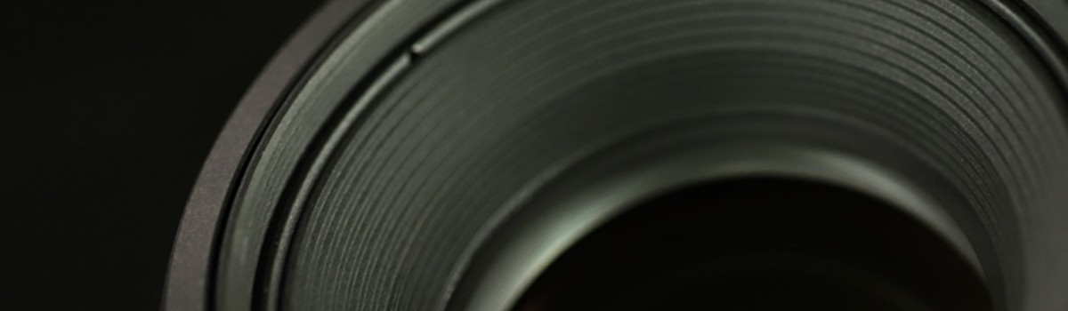 CLose up texture of a camera lens