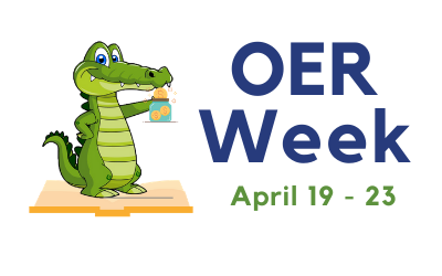 OER Week April 19th to 23rd