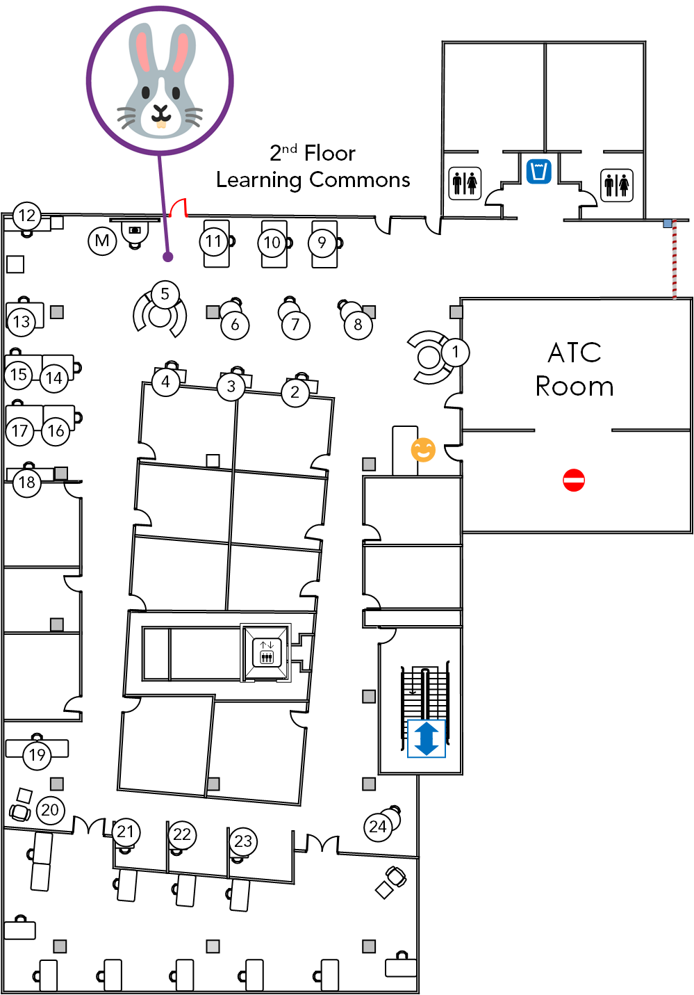 2nd Floor Learning Commons