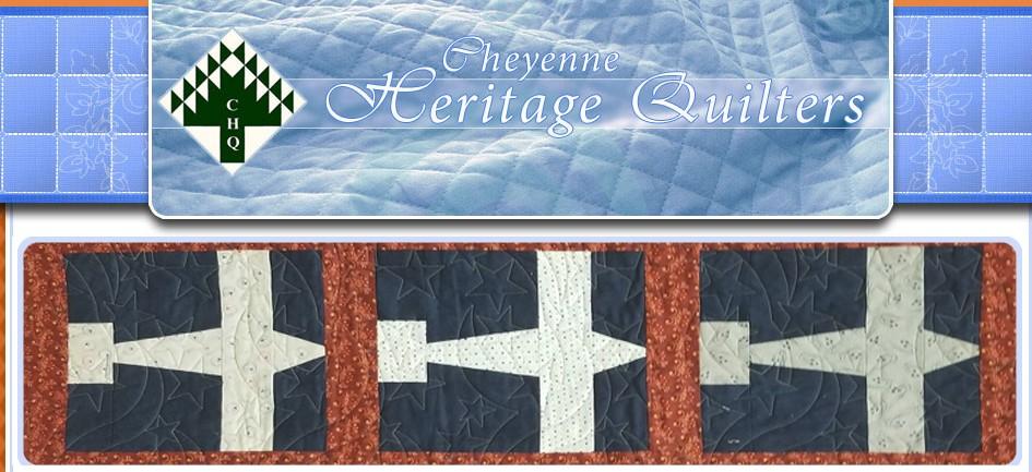 Cheyenne Heritage quilters website