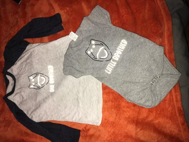 Dinosaur brother kid shirts