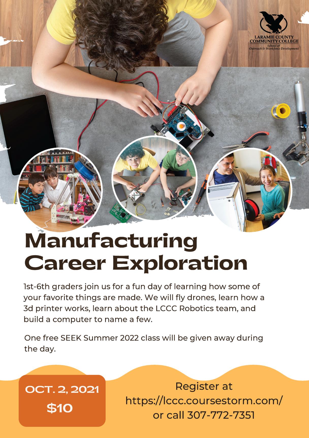 Manufacturing Career Exploration