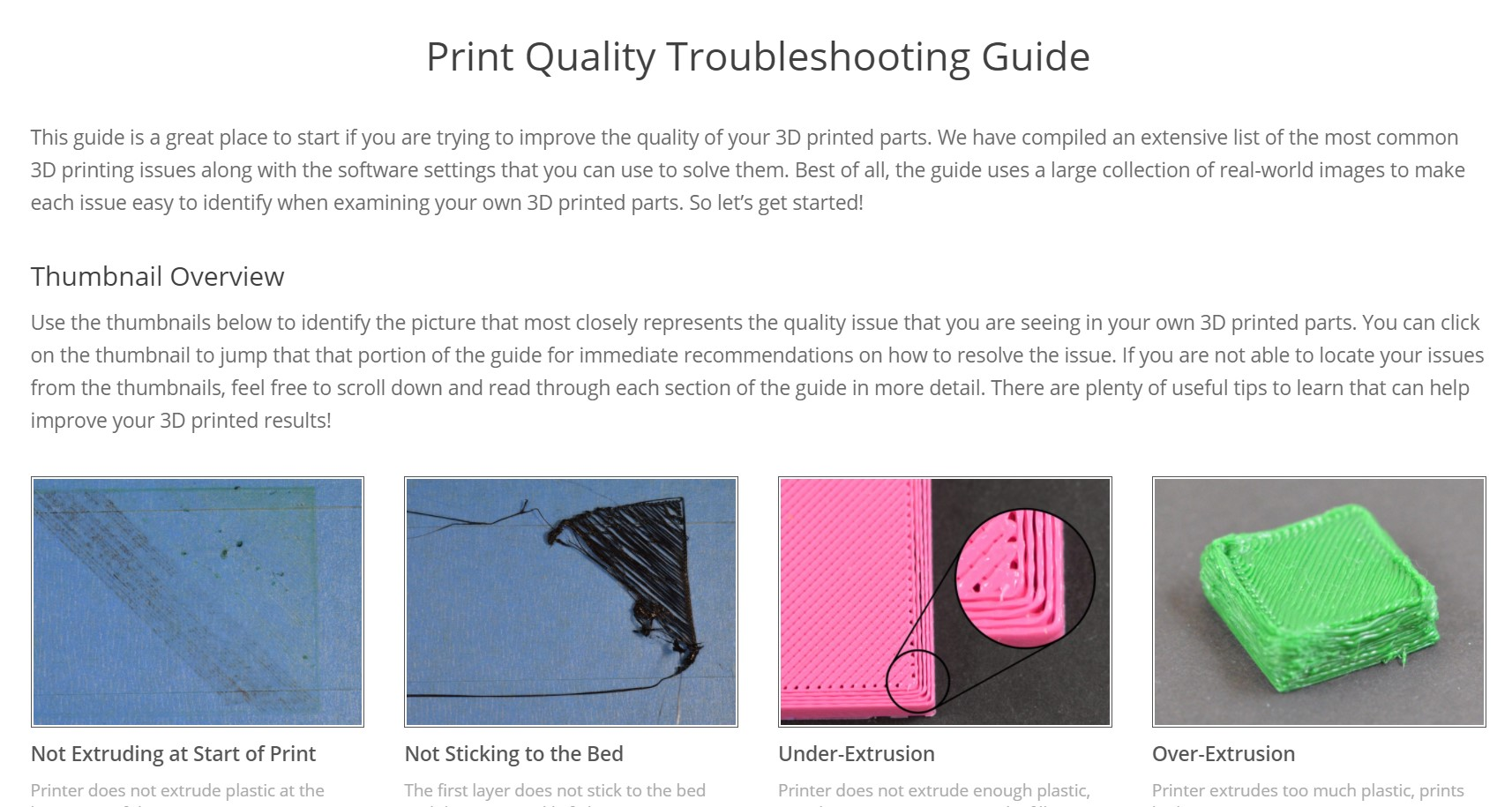 Simplify 3D Print Quality guide