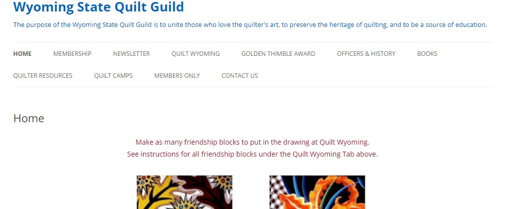Wyoming State Quilt Guild