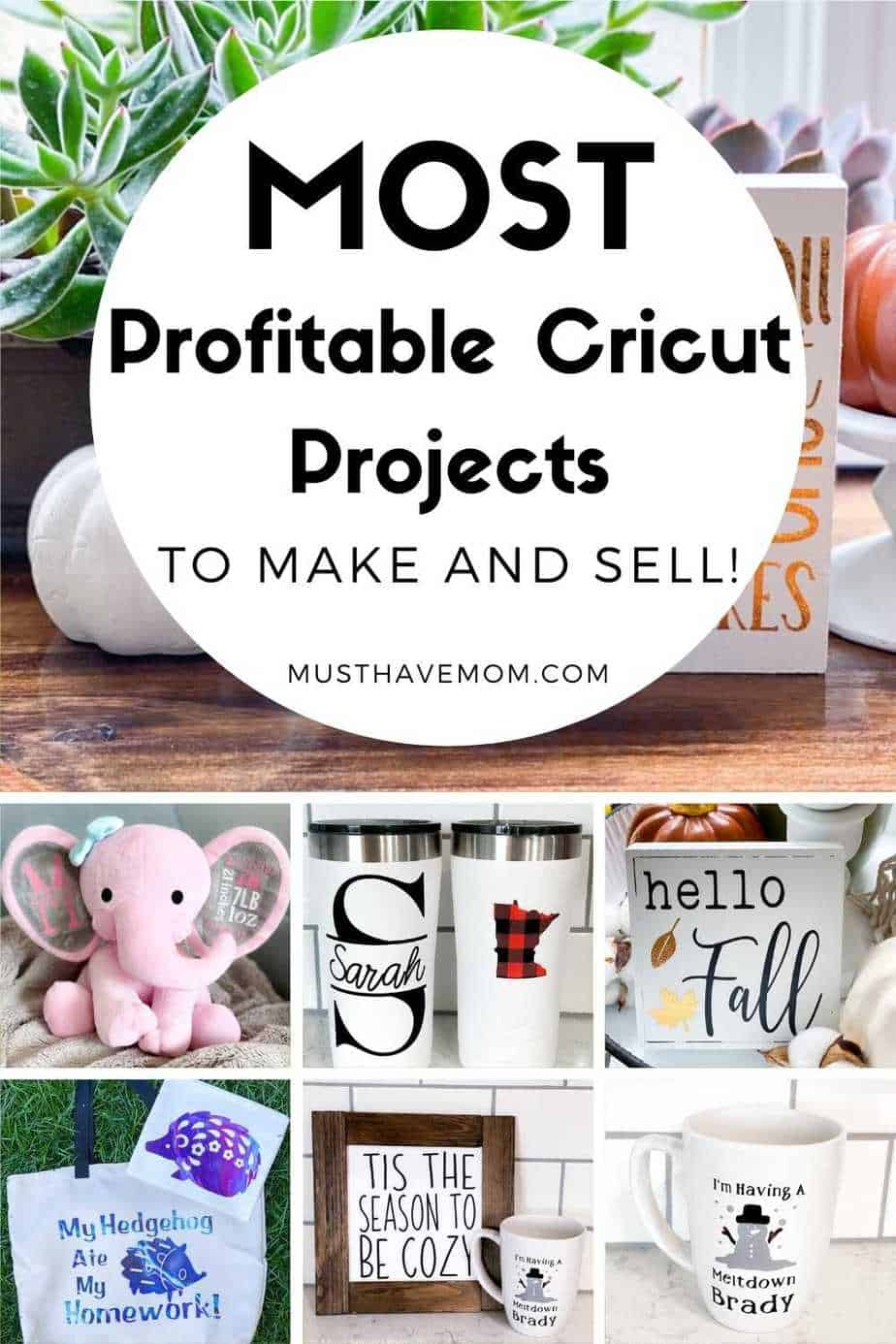 Cricut Projects to make a profit