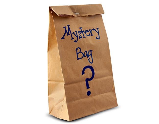 mystery bag of books