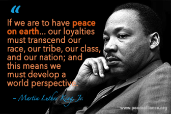 If we are to have peace on earth...