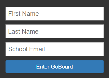 Image of fields to enter First Name, Last Name, Email Address