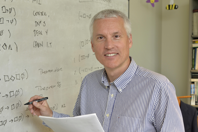 Craig DeLancey at whiteboard