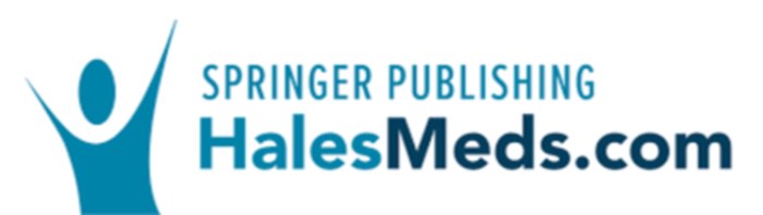 Hale's Medications & Mothers' Milk Logo from Springer Publishing with Blue Person
