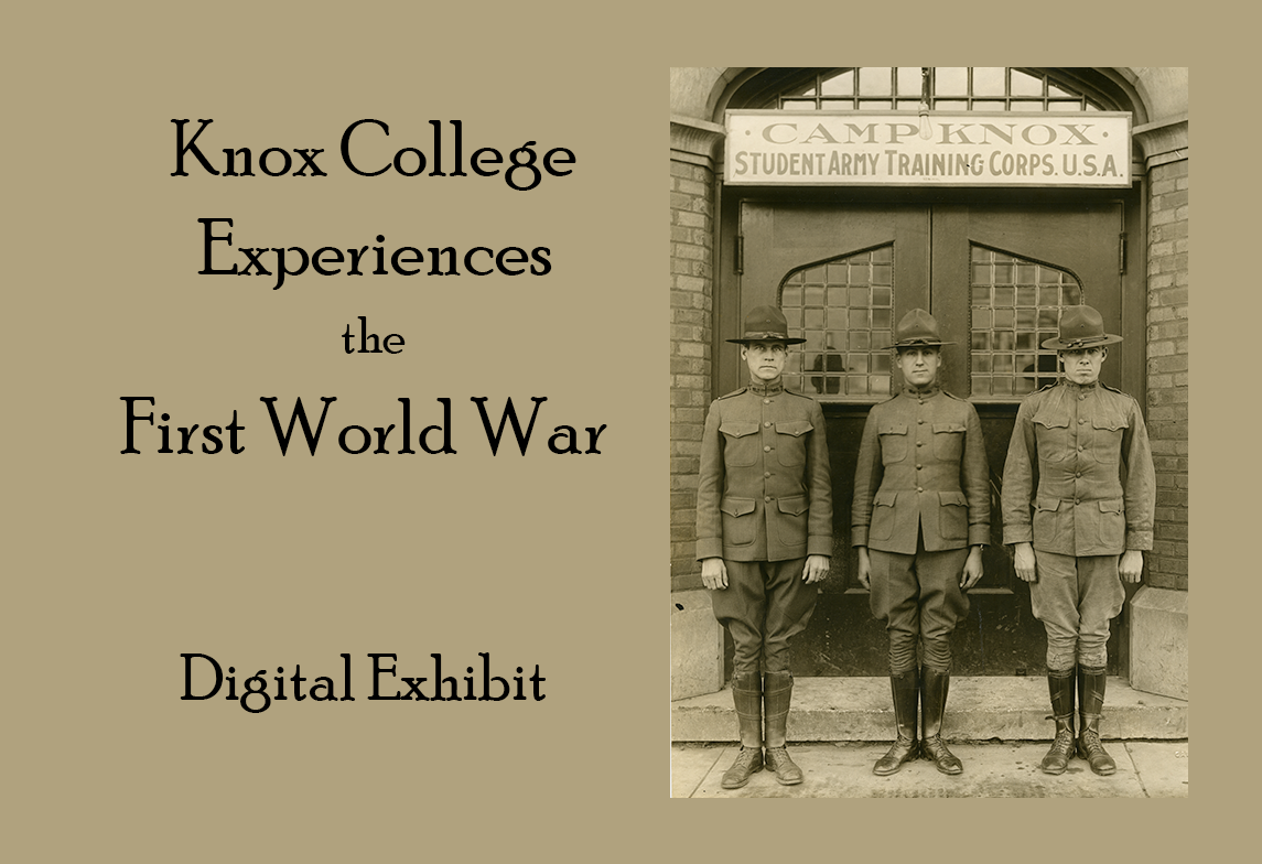 Knox College World War I digital exhibit
