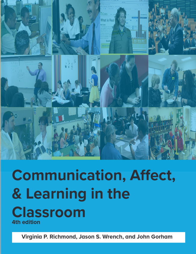 cover of communication, affect, and learning in the classroom