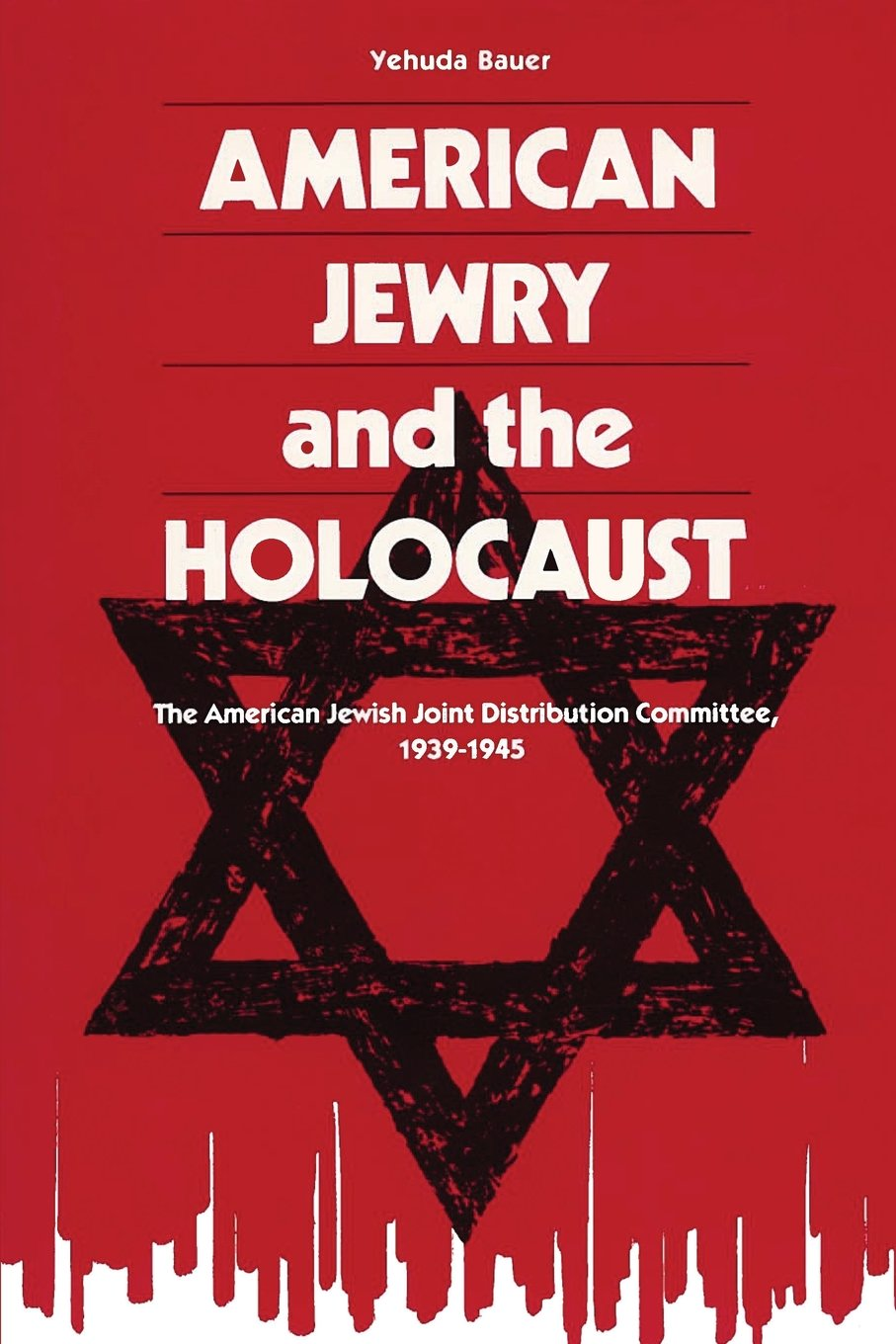 cover of american jewry and the holocaust