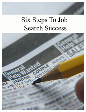 cover of six steps to job search success