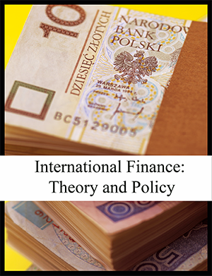 cover of international finance textbook