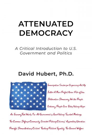 cover of attenuated democracy textbook