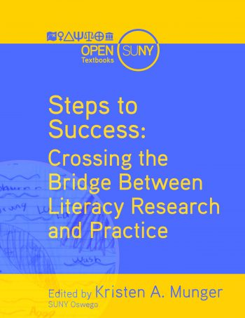 cover of steps to success OER textbook