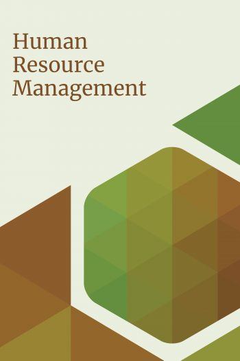 cover of human resource management textbook