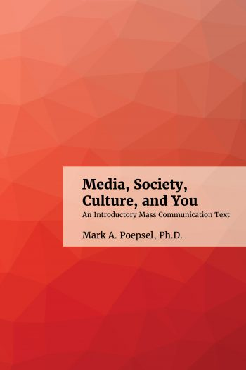 cover of media society culture and you