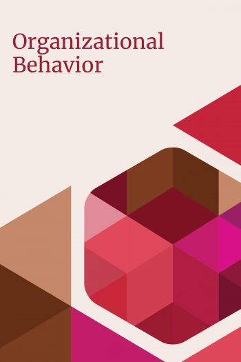 cover of organizational behavior oer textbook