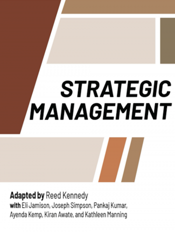 cover of strategic management textbook