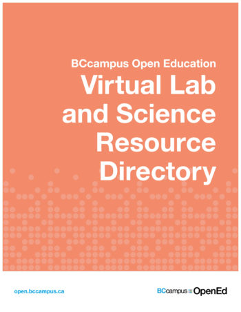 cover of virtual lab and science resource directory