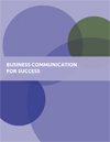 the cover of business communication for success