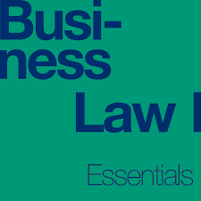 cover of business law essentials textbook