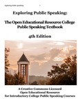 cover of exploring public speaking