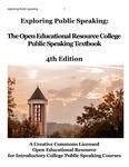 cover of exploring public speaking