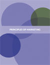 the cover of principles of marketing
