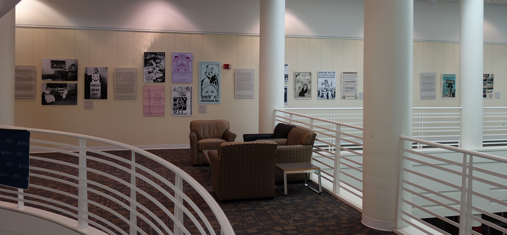 Image of exhibit physically on view at Kelvin Smith Library.